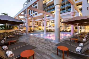 Hotel Riviera Marriott La Porte De Monaco: Solarium MONACO - MONTE CARLO