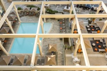 Hotel Riviera Marriott La Porte De Monaco: Swimming Pool MONACO - MONTE CARLO