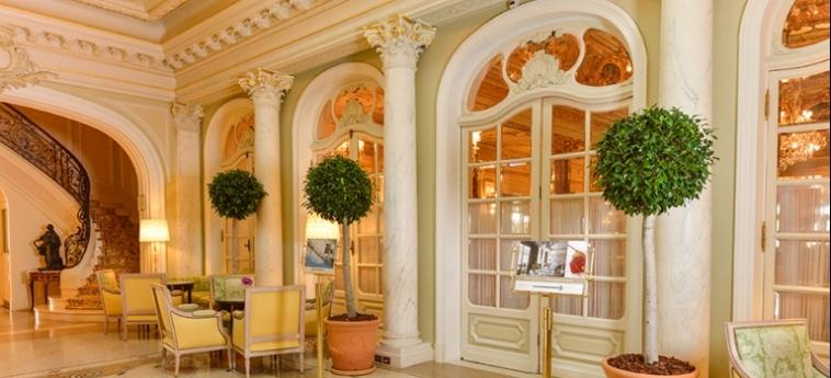 Hotel Hermitage: Hotelhalle MONACO - MONTE CARLO