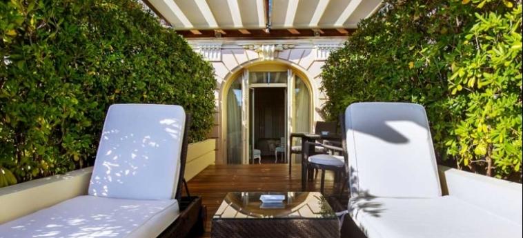 Hotel Hermitage: Solarium MONACO - MONTE CARLO