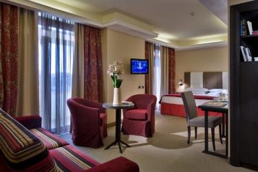 Hotel Esplanade Tergesteo: Deluxe Suite Zimmer MONTEGROTTO TERME - PADUA