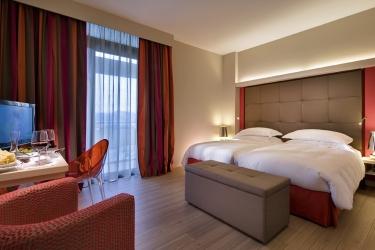 Hotel Esplanade Tergesteo: Deluxe Zimmer MONTEGROTTO TERME - PADUA