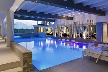 Hotel Esplanade Tergesteo: Innenschwimmbad MONTEGROTTO TERME - PADUA
