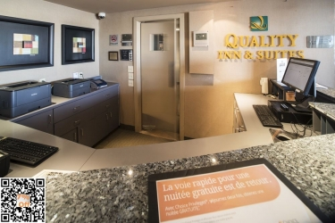 Hotel Quality Inn & Suites P.e. Trudeau Airport: Reception MONTREAL
