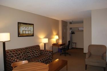 Hotel Quality Inn & Suites P.e. Trudeau Airport: Sala de estar MONTREAL