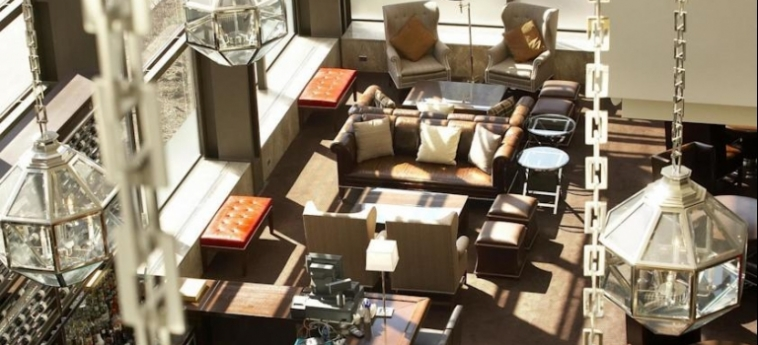 Hotel Le Centre Sheraton Montreal: Lounge MONTREAL