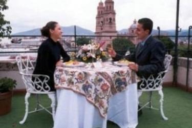 Hotel Alameda Centro Histórico: Terrasse MORELIA