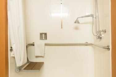 Holiday Inn Express Hotel & Suites San Jose Morgan Hill: Ducha del baño MORGAN HILL (CA)