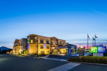 Holiday Inn Express Hotel & Suites San Jose Morgan Hill: Außen MORGAN HILL (CA)