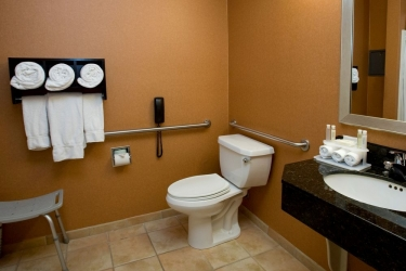 Holiday Inn Express Hotel & Suites San Jose Morgan Hill: Badezimmer MORGAN HILL (CA)
