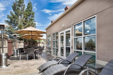 Holiday Inn Express Hotel & Suites San Jose Morgan Hill: Terrasse MORGAN HILL (CA)