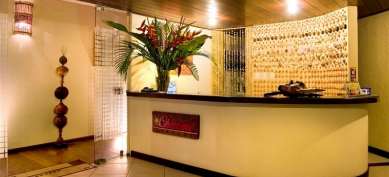 Hotel Charme Pousada Boutique & Spa: Réception MORRO DE SAO PAULO