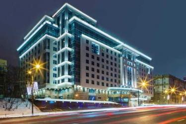 Moscow Marriott Hotel Novy Arbat: Exterior MOSCÚ