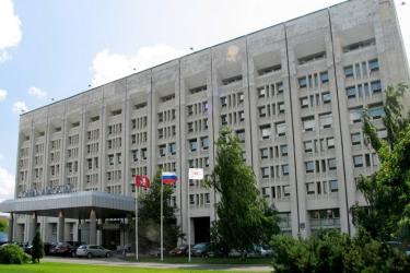 Hotel Aerostar: Außen MOSKAU