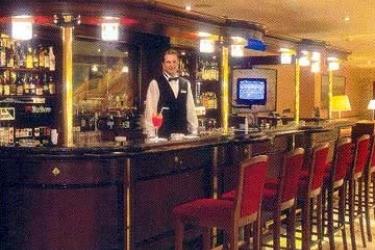 Hotel Aerostar: Bar MOSKAU