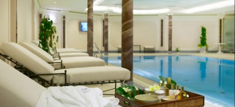 Hotel Baltschug Kempinski: Innenschwimmbad MOSKAU