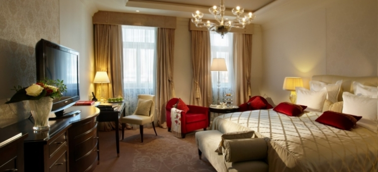 Hotel Baltschug Kempinski: Suite MOSKAU
