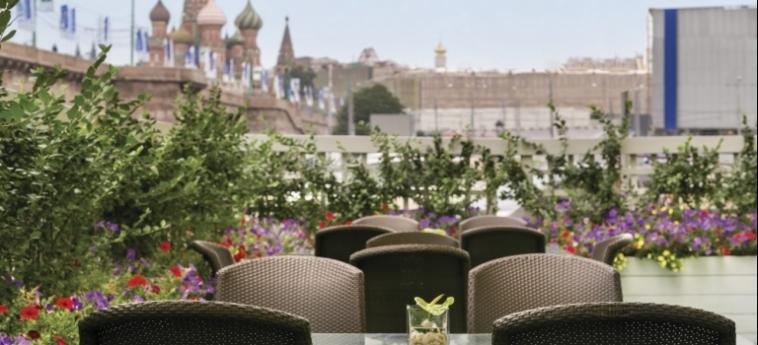 Hotel Baltschug Kempinski: Terrasse MOSKAU