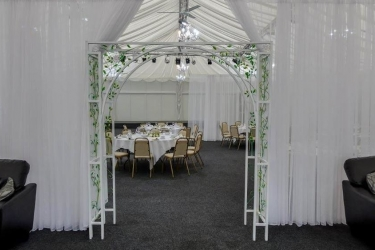 Alona Hotel: Area de boda al aire libre MOTHERWELL