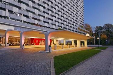 Hotel Sheraton Munich Arabellapark: Außen MÜNCHEN