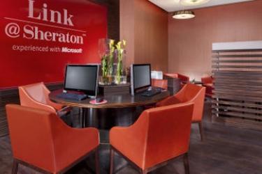 Hotel Sheraton Munich Arabellapark: Business Centre MÜNCHEN