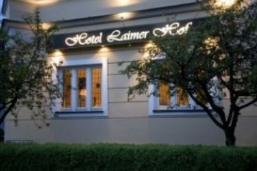 Hotel Laimer Hof Am Schloss Nymphenburg: Entrance MUNICH