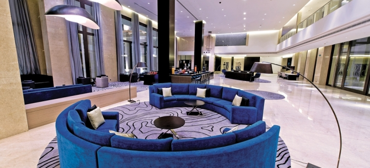 Hotel Hormuz Grand, Muscat A Radisson Collection : Lobby MUSCAT