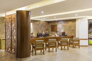 Hotel Pine Hill: Reception MUSSOORIE