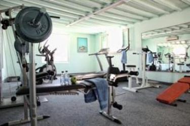 Hotel Palladium: Salle de Gym MYKONOS