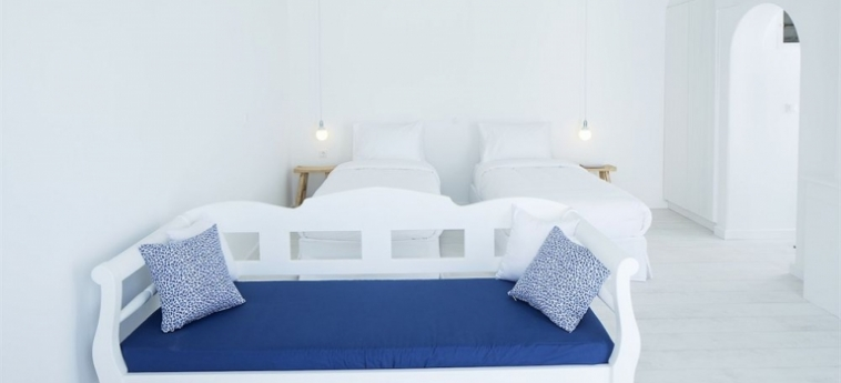 Hotel Aether Boutique Stay: Living Room MYKONOS