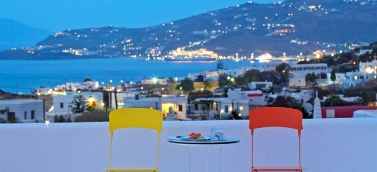 Hotel Aether Boutique Stay: Restaurant MYKONOS