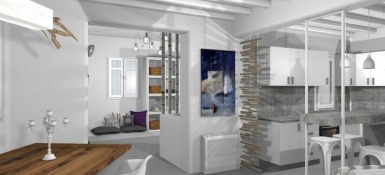 Hotel Villa Alice: Badezimmer - Suite MYKONOS