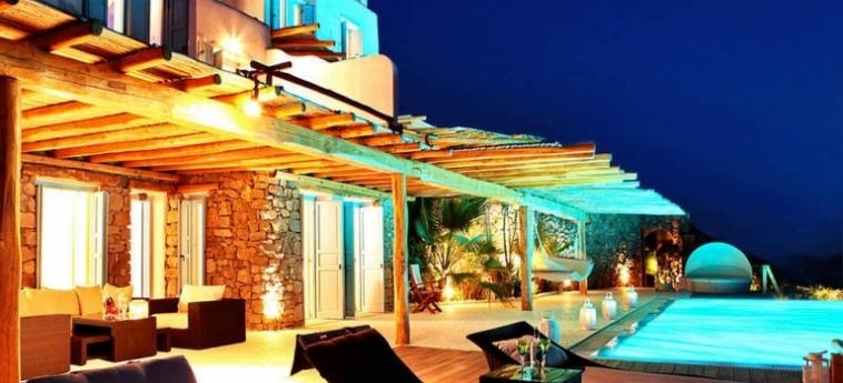 Hotel Zinas Villas: Entrada MYKONOS