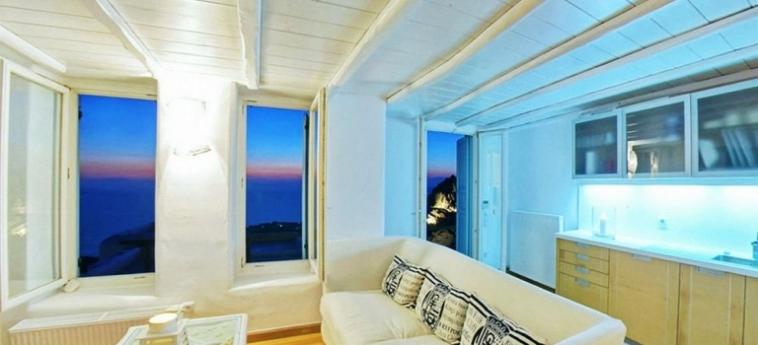 Hotel Zinas Villas: Habitación Singula MYKONOS