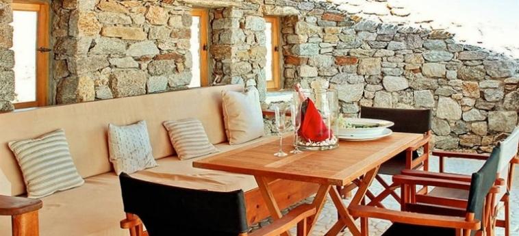 Hotel Zinas Villas: Mapa MYKONOS