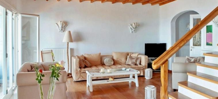 Hotel Zinas Villas: Piscina Calentada MYKONOS