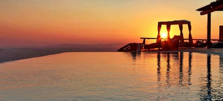 Hotel Zinas Villas: Posicion de l'Hotel MYKONOS