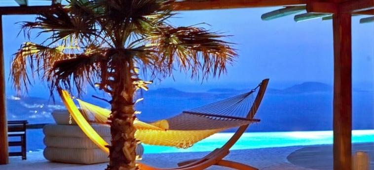 Hotel Zinas Villas: Salotto MYKONOS