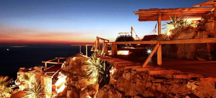 Hotel Zinas Villas: Balcone MYKONOS