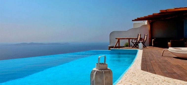 Hotel Zinas Villas: Camera Matrimoniale Club MYKONOS