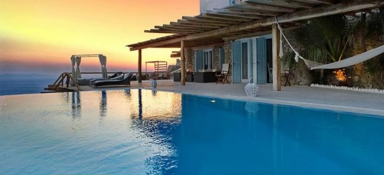 Hotel Zinas Villas: Living Room MYKONOS