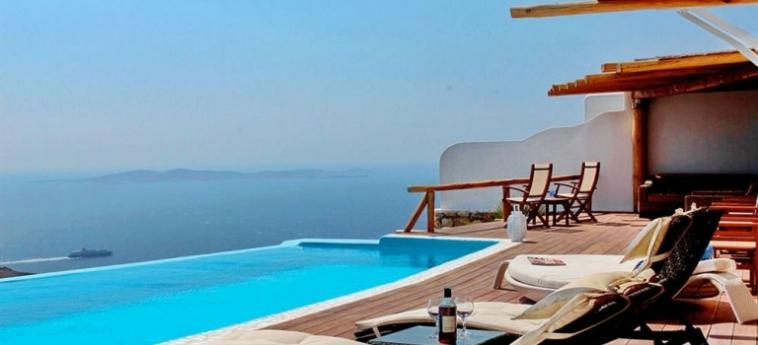 Hotel Zinas Villas: Particolare dell'Hotel MYKONOS