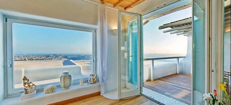 Hotel Zinas Villas: Veranda MYKONOS