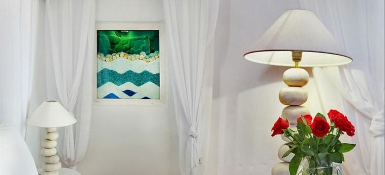 Hotel Zinas Villas: Bar Exterieur MYKONOS