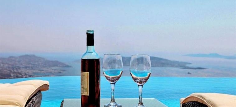 Hotel Zinas Villas: Cuisine MYKONOS