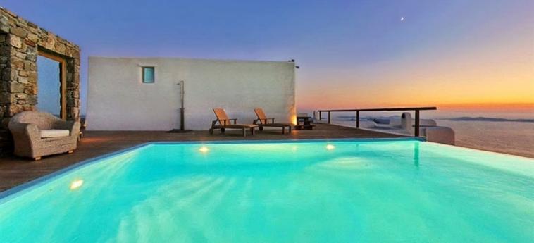 Hotel Zinas Villas: Dining Area MYKONOS