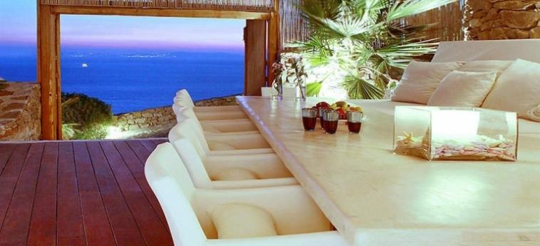 Hotel Zinas Villas: Escalier MYKONOS