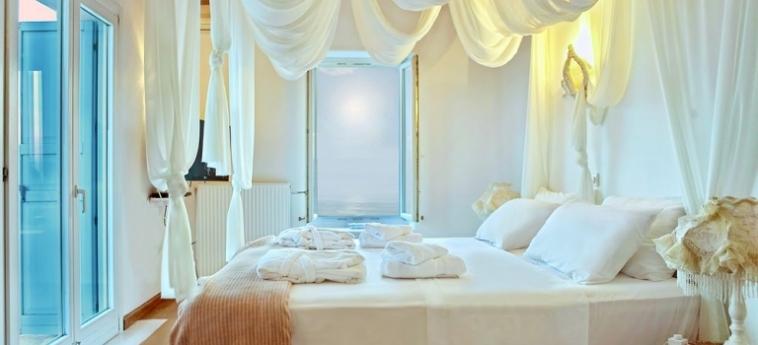 Hotel Zinas Villas: Réception MYKONOS