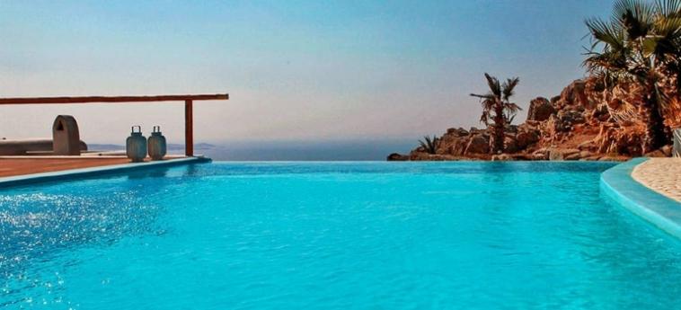 Hotel Zinas Villas: Restaurant MYKONOS