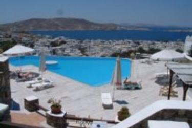 Hotel Vencia: Außenschwimmbad MYKONOS